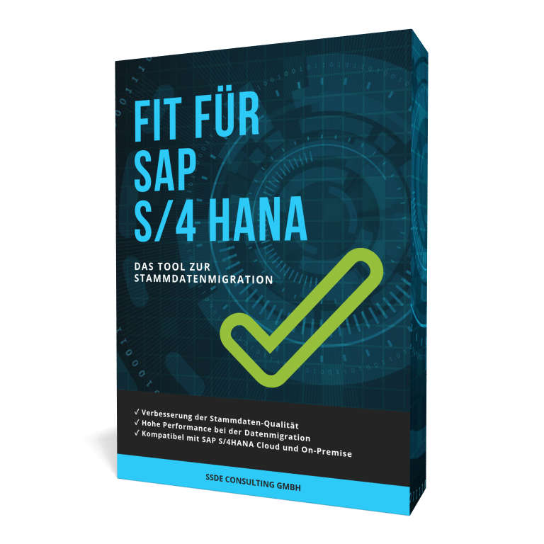 Stammdaten-Tool Fit für SAP S/4HANA