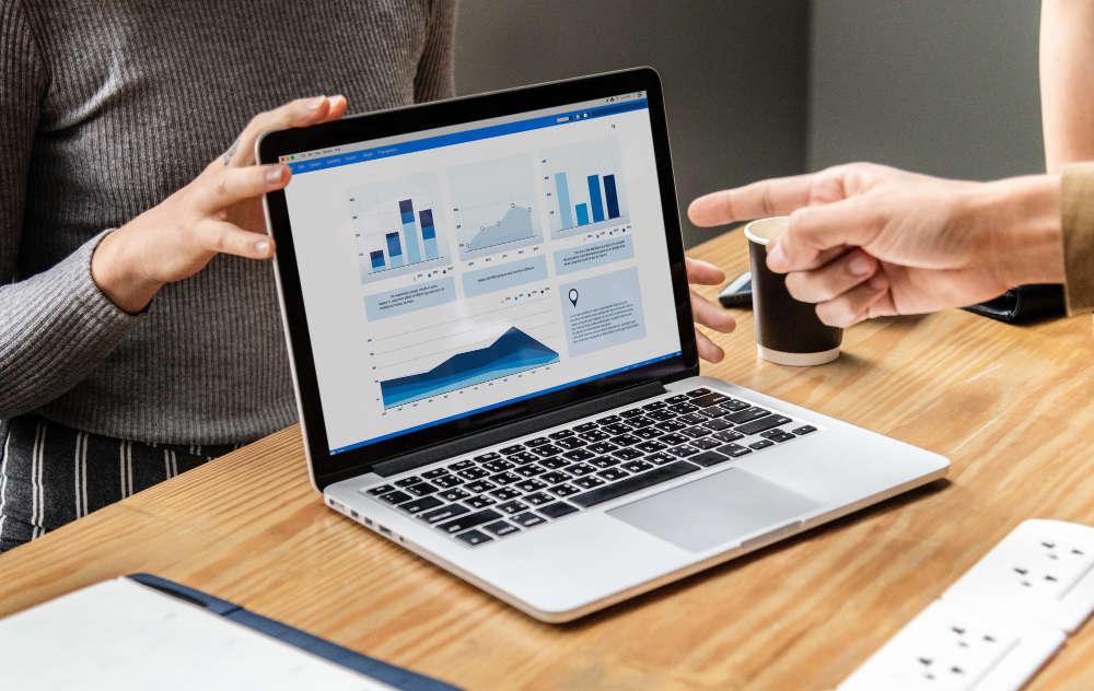Statistiken eines ERP-Systems